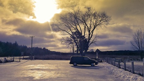 Sun,Snow, SUV - The State of Nature